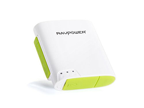 [6-in-1] RAVPower FileHub Wireless N Portable Pocket Travel Router Wireless Micro SD TF Card Reader with Built-in 6000mAh External Battery Pack,Wireless USB,Wireless Flash,Mobile Storage Media Sharing, WLAN Hot Spot & NAS File Server
